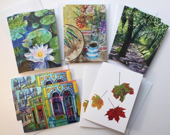 10 Fine Art Greetings Cards - The Watercolour Selection