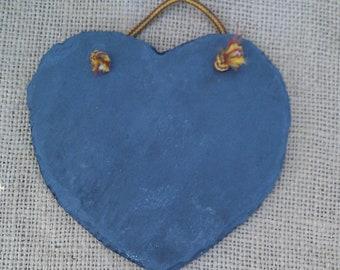 Slate Shape- Heart LG Handmade Peach Bottom Slate BEST SLATE in the World
