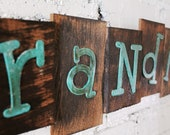 Personalized Family Name Sign, Cedar