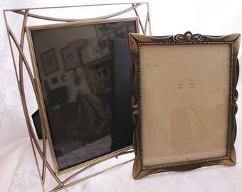 Vintage Antiqued Finish Picture Frames