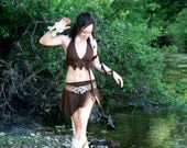 Isis Swimsuit- in Brown