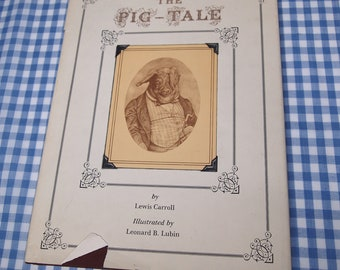 the pig tale, vintage 1975 children's book