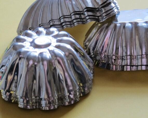 Vintage tartlet tins Made in Sweden Set of 17 Tart tins