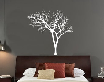 Winter Tree Decal - Bare Tree Style 3 Vinyl Wall Decal 22225