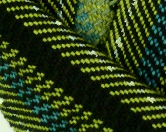 Handwoven Shades of Bamboo Scarf