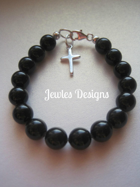 Boy Infant Jewelry Swarovski Crystal Boys Bracelet