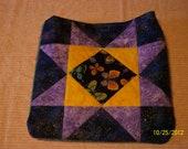 Purple star butterfly bag   3