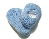Crocheted Baby Booties - Newborn Size 0