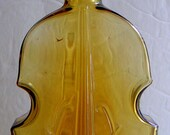 Antique Violin Bottle American Style. Decorative Glass,Decorative Bottle. Violin Bottle Collectors Asscociation