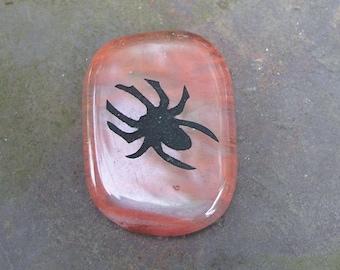 Spider Cherry Quartz Totem Gemstone Crystal Palm Stone