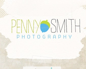 Unique premade logo design and watermark photographer logo ooak logos - Business Logo