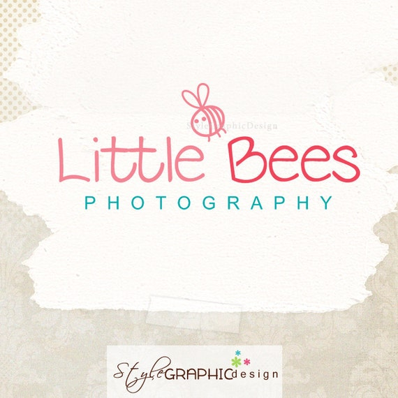 Cute Bee Logo Logo With Cute Bee And
