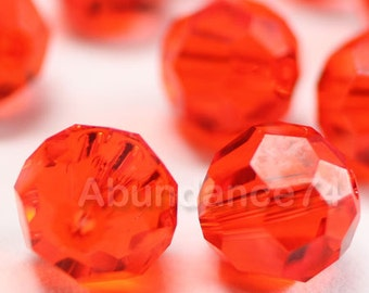 Swarovski Elements Crystal Beads 5000 Round Ball Beads HYACINTH - Available in 6mm and 8mm