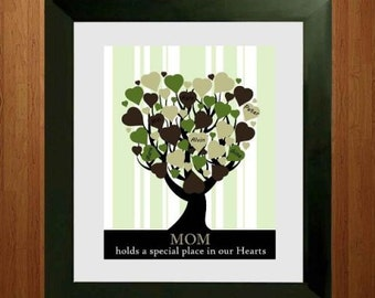 Printable - Personalized Holiday Gift - Family Tree