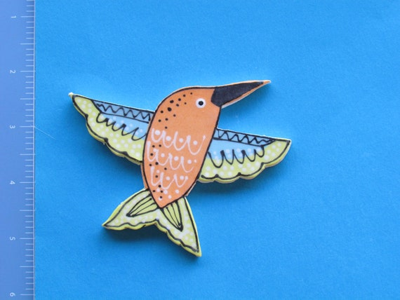 Large Hummingbird - Ceramic Mosaic Tile
