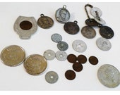Vintage Coin Token Collection - ClearlyRustic