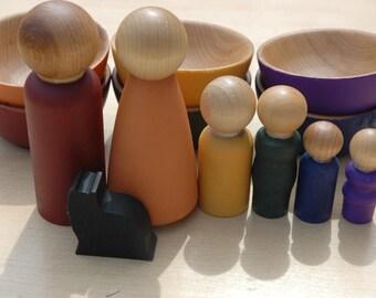 Woodland Family Earth Tones Sensory Toy