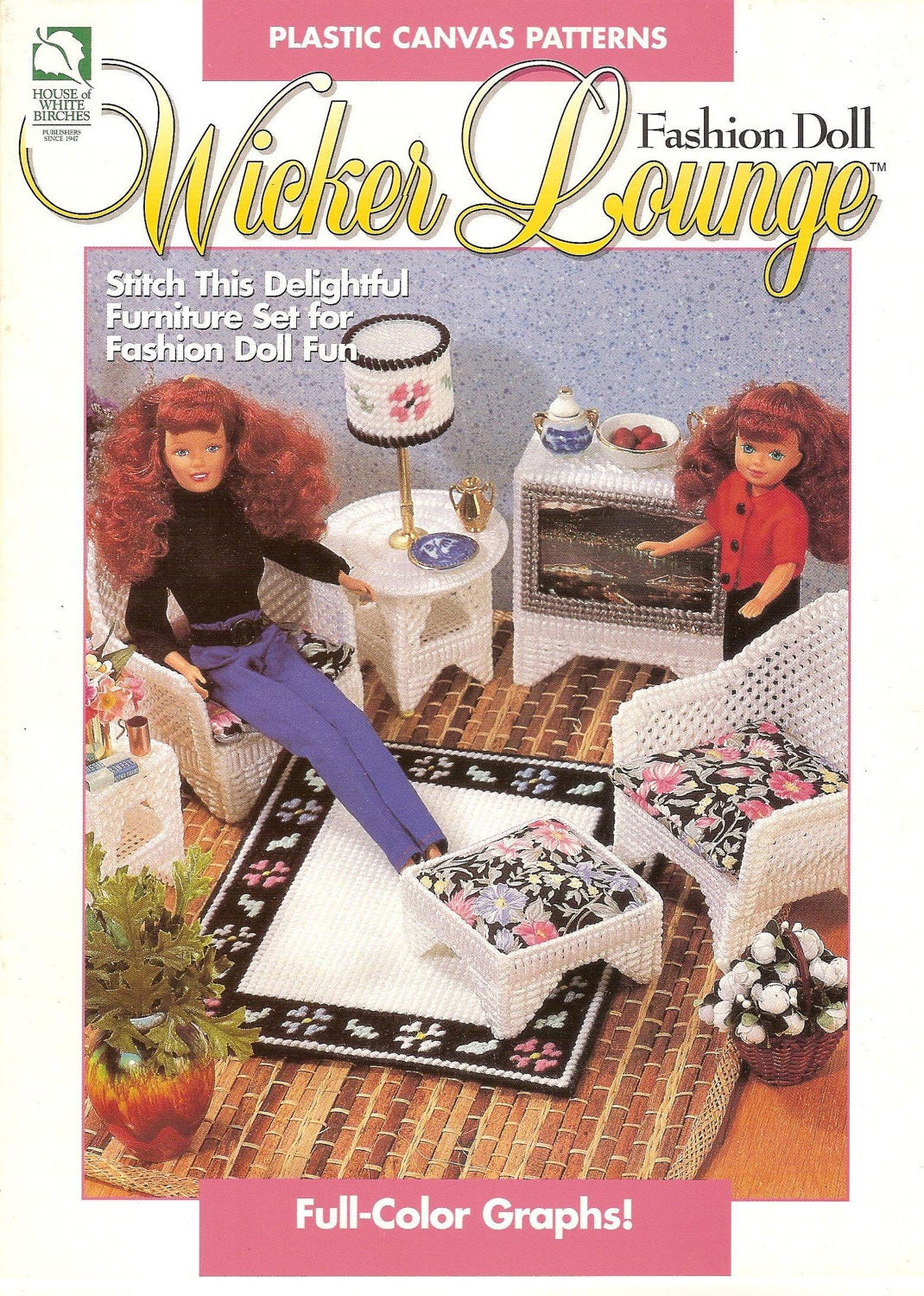 Plastic Canvas Barbie Doll Furniture Pattern Plastic Canvas