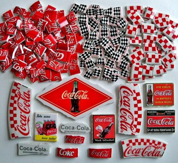 Mosaic Tiles Repurposed Coca Cola Tiles 210 pieces