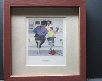 Vintage Norman Rockwell Framed Print The Runaway