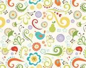 Good Life by Deena Rutter for Riley Blake Designs, Main Cream, SKU C2880, 1 yd