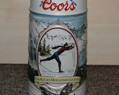 Coors Rocky Mountain Legend Series Beer Stein