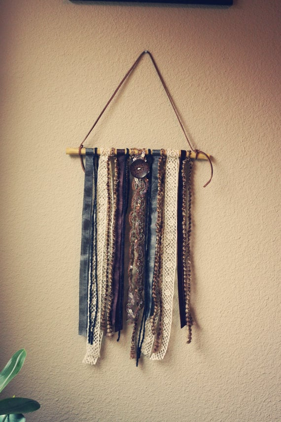 zule.  a tattered gypsy folk mobile for your home.