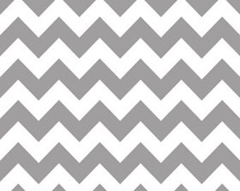 Gray Medium Chevron From Riley Blake