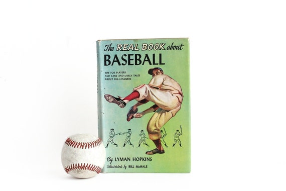 CLEARANCE The Real Book About Baseball by Lyman Hopkins 1958