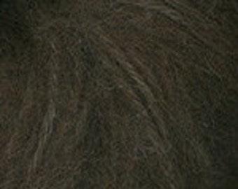 Plymouth Baby Alpaca Brush Yarn - Baby Alpaca/Acrylic - Bulky Weight - Mocha