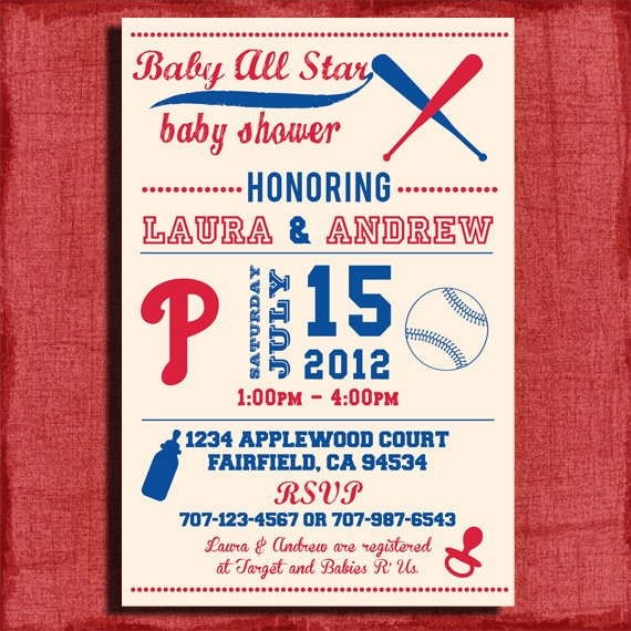 diy free baseball baby shower invitations party invitations ideas