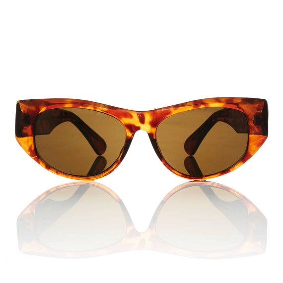 Haley Cat Eye Sunglasses Tortoise Frame Brown by ...