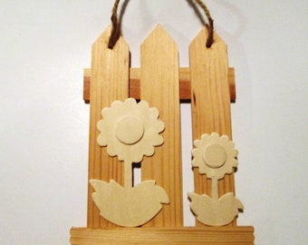 Popular Items For Wooden Picket Fence On Etsy