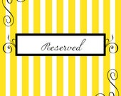 Reserved listing for Terry