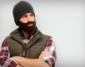 Crochet Beard, Costume, Face Warmer, Photo Prop. Free shipping within the continental US