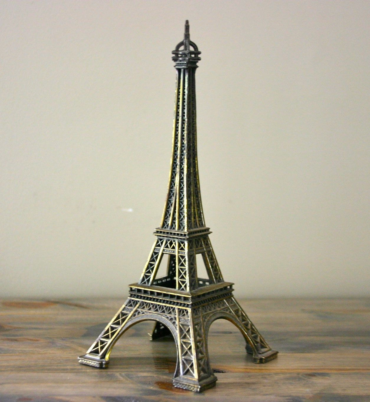 Vintage Eiffel Tower Model