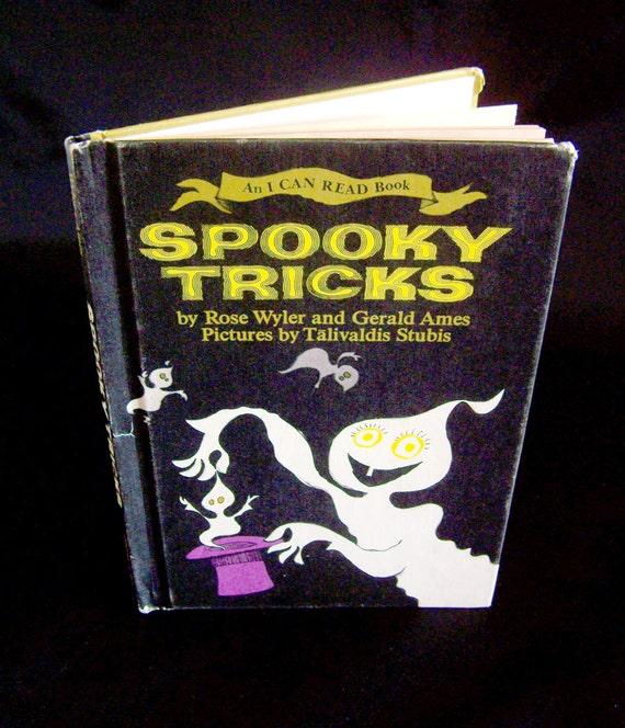 Vintage Halloween Book - Spooky Tricks - 1968