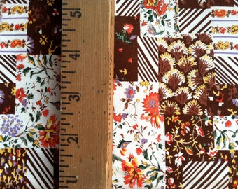 Fall Patchwork Fabric
