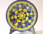 Decorative Plate  Siena Design - Handmade