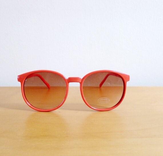 Vintage 80's Sunglasses Peach Smoothie