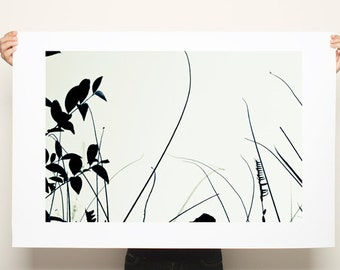 Large Canvas Print, Large wall art, Giclee Print up to 40X28, huge wall decor, tree print, nature prints, minimalist poster, black and white