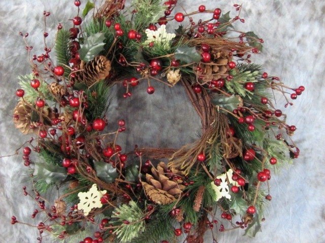 Large Decorated Christmas Wreaths