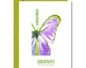 CREATIVITY IS METAMORPHOSIS. heartspeak cards at The Occasional Trinket - theoccasionaltrinket