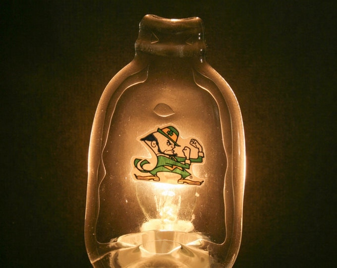 Notre Dame Melted MINI Bottle Night Light