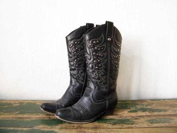 Vegan Cowboy Boots - Boot Hto