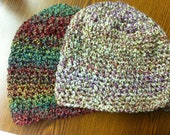 Two Crocheted Hats