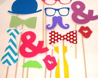 Photo booth Props  - Wedding Photobooth
