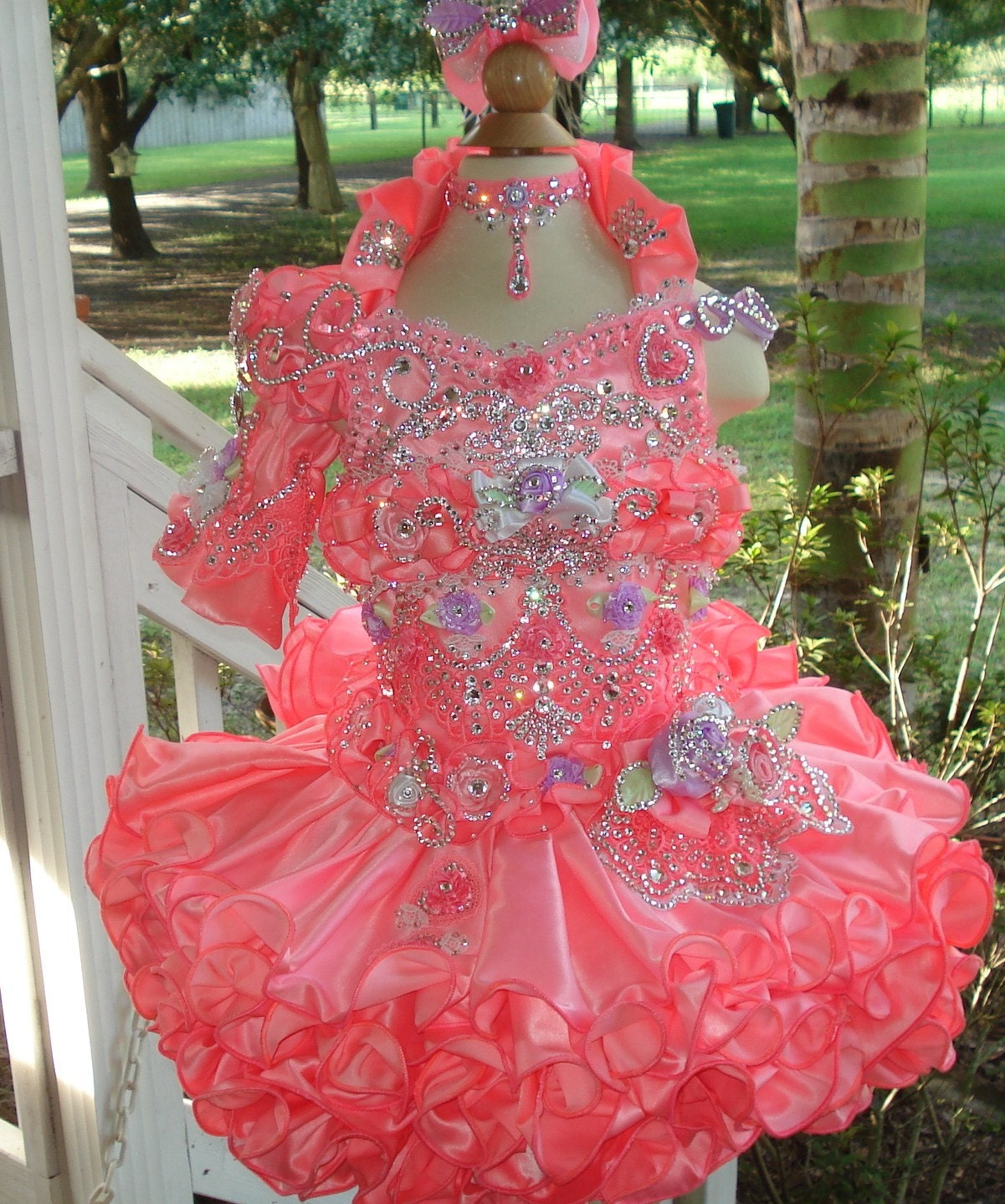 Cheap Glitz Pageant Dresses