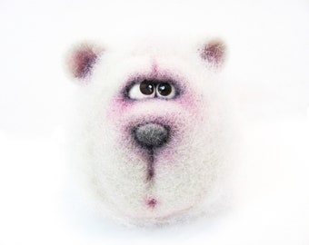 Felt doll - Figurines - Handmade toys - Needle felting - Felt toys - Eco friendly - Personalised gifts - Gifts for her - gifts for men