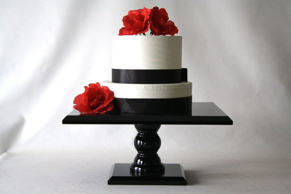 14 inch square wedding cake stand reserved for asia 14 inch square black wedding by 10047